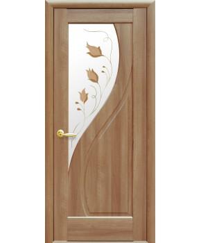 """Межкомнатные двери """"Прима"""",ПО +Р1. пленка ПВХ, фабрика """"Новый стиль"""", цвет - золотая ольха"""