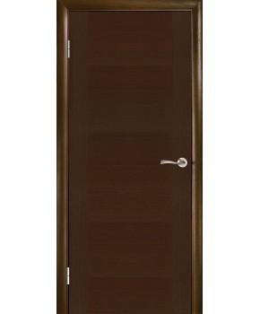 """Межкомнатные шпонированные двери """"Стандарт"""" ПГ.  Галерея дверей. Цвет - венге"""