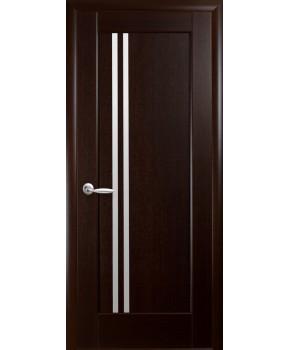 """Межкомнатные двери """"Делла"""",ПО, пленка ПВХ, фабрика """"Новый стиль"""", цвет - венге new."""