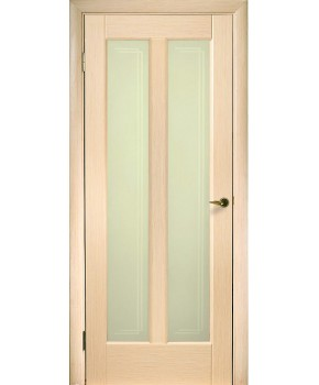 """Межкомнатные шпонированные двери """"Дельта"""" ПО.  НСД. Цвет - дуб беленый"""