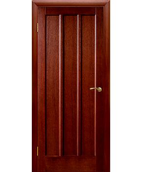 """Межкомнатные шпонированные двери """"Троя"""" ПГ.  Двери Белоруссии. Цвет - темный орех"""