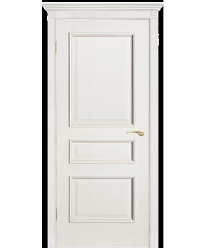 """Межкомнатные шпонированные двери """"Вена - Ш"""" ПГ.  Двери Белоруссии. Цвет - белый ясень"""