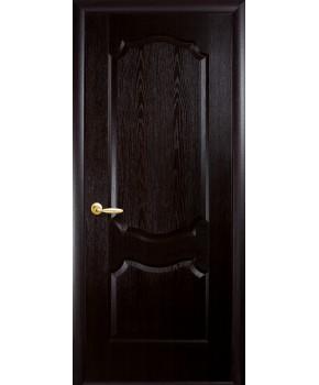 """Межкомнатные двери """"Фортис вензель"""",ПГ, пленка ПВХ, фабрика """"Новый стиль"""", цвет - венге."""