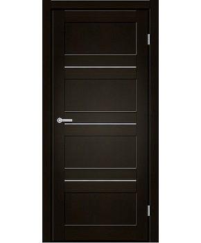 """Межкомнатные двери M 301. Пленка ПВХ. Фабрика """"Art Door"""". Цвет венге"""