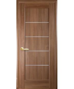 """Межкомнатные двери """"Мира"""",ПО, пленка ПВХ, фабрика """"Новый стиль"""", цвет - золотая ольха."""
