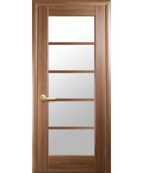"""Межкомнатные двери """"Муза"""",ПО, пленка ПВХ, фабрика """"Новый стиль"""", цвет - золотая ольха."""