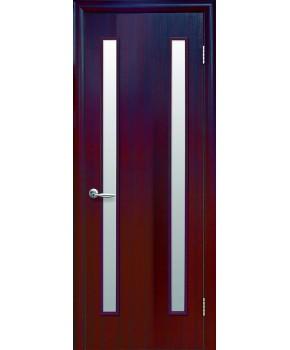"""Межкомнатные двери """"Вера"""",ПО. фабрика """"Новый стиль"""", экошпон, цвет - венге 3D"""