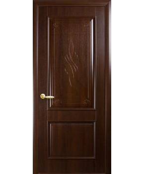 """Межкомнатные двери """"Вилла"""",ПГ, пленка ПВХ, фабрика """"Новый стиль"""", цвет - каштан."""