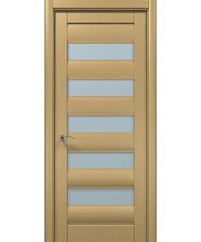 """Межкомнатные шпонированные двери """"Онда 1"""" ПО.  WoodOk. Цвет - беленый дуб"""