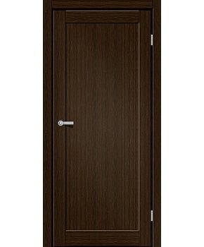 """Межкомнатные двери ART 01-01. Пленка ПВХ. Фабрика """"Art Door"""". Цвет каштан"""