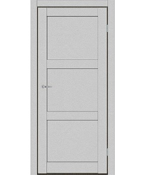 """Межкомнатные двери ART 03-01. Пленка ПВХ. Фабрика """"Art Door"""". Цвет металлик"""