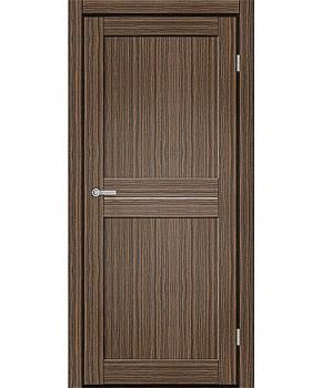 """Межкомнатные двери M 101. Пленка ПВХ. Фабрика """"Art Door"""". Цвет зебрано"""