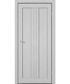 """Межкомнатные двери M 801. Пленка ПВХ. Фабрика """"Art Door"""". Цвет металлик"""