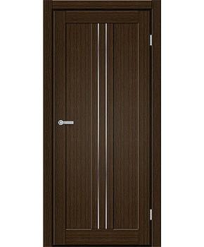 "Межкомнатные двери M 801. Пленка ПВХ. Фабрика ""Art Door"". Цвет каштан"