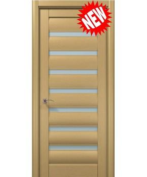 """Межкомнатные шпонированные двери """"Онда 2"""" ПО.  WoodOk. Цвет - беленый дуб"""