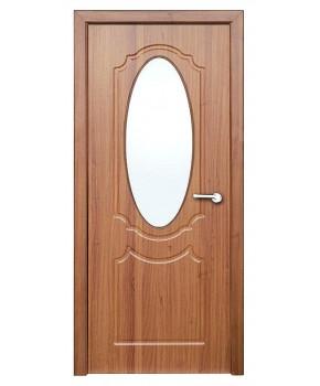 """Межкомнатные двери """"Зеркало"""" ПО. Покрытие пленка ПВХ. Фабрика """"Феникс"""" Цвет - золотой дуб"""