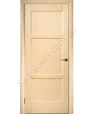 """Межкомнатные шпонированные двери """"Генри"""" ПГ.  НСД. Цвет - дуб беленый"""