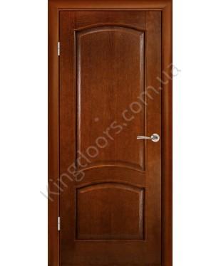 """Межкомнатные шпонированные двери """"Капри"""" ПГ.  Галерея дверей. Цвет - тон"""