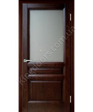 """Межкомнатные шпонированные двери """"Максима"""" ПО.  Галерея дверей. Цвет - дуб тон"""