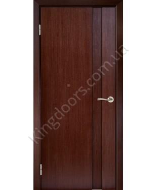 """Межкомнатные шпонированные двери """"Милано 1"""" ПГ.  Галерея дверей. Цвет - венге"""