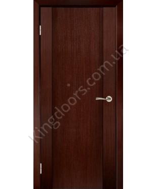 """Межкомнатные шпонированные двери """"Милано 2"""" ПГ.  Галерея дверей. Цвет - венге"""
