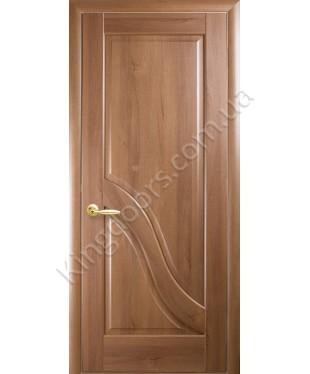 """Межкомнатные двери """"Амата"""",ПГ, пленка ПВХ, фабрика """"Новый стиль"""", цвет - золотая ольха."""