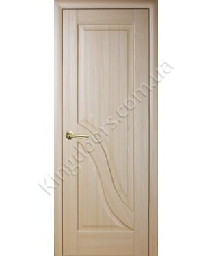 """Межкомнатные двери """"Амата"""",ПГ, пленка ПВХ, фабрика """"Новый стиль"""", цвет - ясень."""