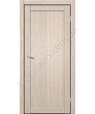 """Межкомнатные двери ART 01-01. Пленка ПВХ. Фабрика """"Art Door"""". Цвет дуб беленый"""