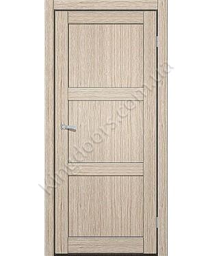 """Межкомнатные двери ART 03-01. Пленка ПВХ. Фабрика """"Art Door"""". Цвет дуб беленый"""