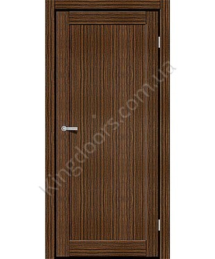 """Межкомнатные двери ART 01-01. Пленка ПВХ. Фабрика """"Art Door"""". Цвет зебрано"""