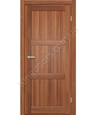 """Межкомнатные двери ART 03-01. Пленка ПВХ. Фабрика """"Art Door"""". Цвет орех"""