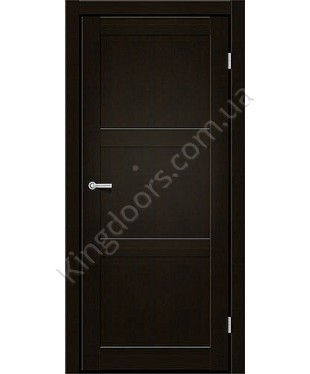 """Межкомнатные двери ART 03-01. Пленка ПВХ. Фабрика """"Art Door"""". Цвет венге"""