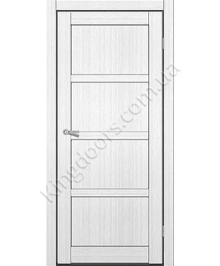 """Межкомнатные двери ART 04-01. Пленка ПВХ. Фабрика """"Art Door"""". Цвет белый"""