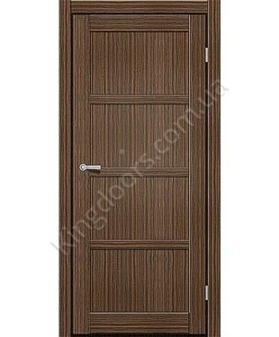 """Межкомнатные двери ART 04-01. Пленка ПВХ. Фабрика """"Art Door"""". Цвет зебрано"""
