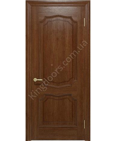 """Межкомнатные шпонированные двери """"Луидор"""" ПГ.  Фабрика """"Ваш Стиль"""". Цвет - темный орех"""