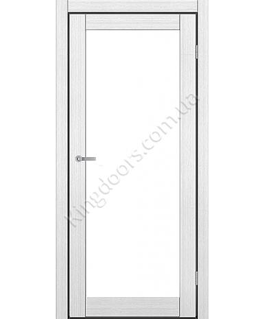 """Межкомнатные двери ART 01-02. Пленка ПВХ. Фабрика """"Art Door"""". Цвет белый"""