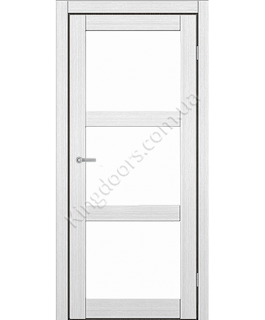 """Межкомнатные двери ART 03-02. Пленка ПВХ. Фабрика """"Art Door"""". Цвет белый"""