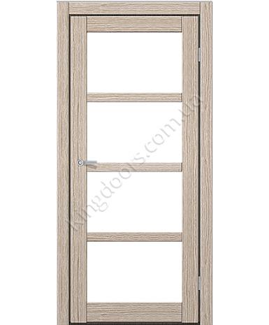 """Межкомнатные двери ART 04-02. Пленка ПВХ. Фабрика """"Art Door"""". Цвет беленый дуб"""