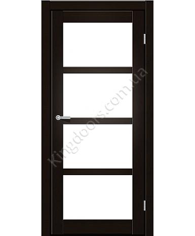 """Межкомнатные двери ART 04-02. Пленка ПВХ. Фабрика """"Art Door"""". Цвет венге"""