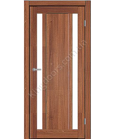 """Межкомнатные двери ART 05-05. Пленка ПВХ. Фабрика """"Art Door"""". Цвет орех"""