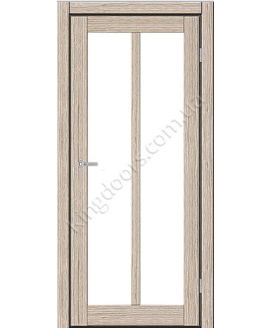 """Межкомнатные двери ART 05-02. Пленка ПВХ. Фабрика """"Art Door"""". Цвет беленый дуб"""