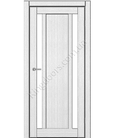 """Межкомнатные двери ART 05-02. Пленка ПВХ. Фабрика """"Art Door"""". Цвет белый"""