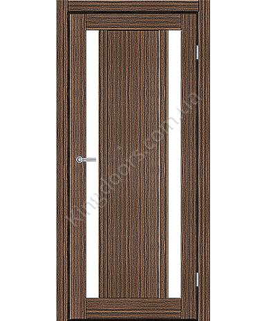 """Межкомнатные двери ART 05-02. Пленка ПВХ. Фабрика """"Art Door"""". Цвет зебрано"""