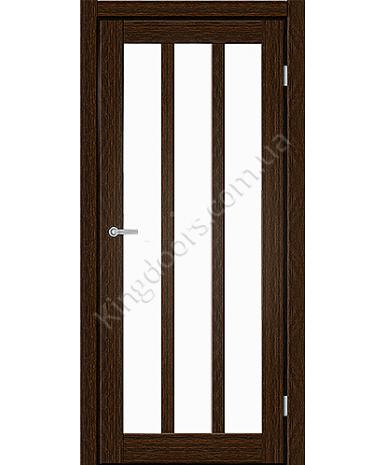 """Межкомнатные двери ART 06-02. Пленка ПВХ. Фабрика """"Art Door"""". Цвет каштан"""
