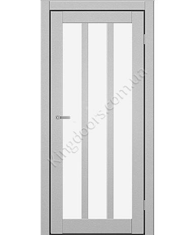 """Межкомнатные двери ART 06-02. Пленка ПВХ. Фабрика """"Art Door"""". Цвет металлик"""
