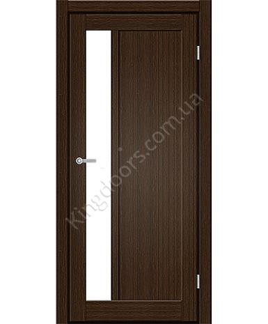 """Межкомнатные двери ART 06-04. Пленка ПВХ. Фабрика """"Art Door"""". Цвет каштан"""