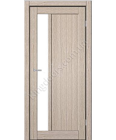"""Межкомнатные двери ART 06-04. Пленка ПВХ. Фабрика """"Art Door"""". Цвет беленый дуб"""