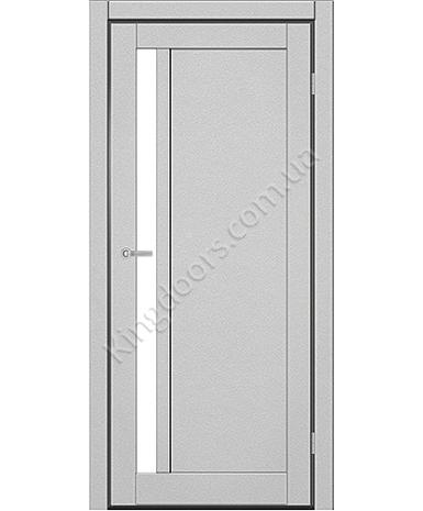 """Межкомнатные двери ART 06-05. Пленка ПВХ. Фабрика """"Art Door"""". Цвет металлик"""