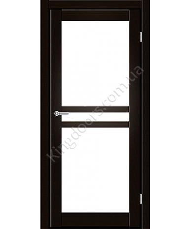 """Межкомнатные двери ART 07-02. Пленка ПВХ. Фабрика """"Art Door"""". Цвет венге"""