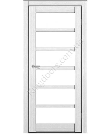 """Межкомнатные двери ART 08-02. Пленка ПВХ. Фабрика """"Art Door"""". Цвет белый"""